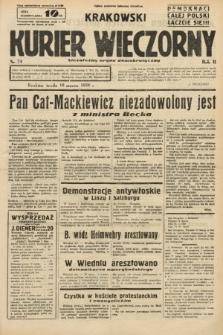 Krakowski Kurier Wieczorny : niezależny organ demokratyczny. 1938, nr74