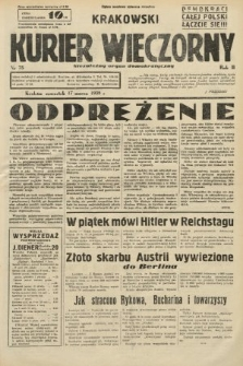 Krakowski Kurier Wieczorny : niezależny organ demokratyczny. 1938, nr75