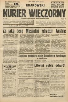 Krakowski Kurier Wieczorny : niezależny organ demokratyczny. 1938, nr76