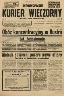 Krakowski Kurier Wieczorny : niezależny organ demokratyczny. 1938, nr87