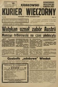 Krakowski Kurier Wieczorny : niezależny organ demokratyczny. 1938, nr88