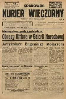 Krakowski Kurier Wieczorny : niezależny organ demokratyczny. 1938, nr91