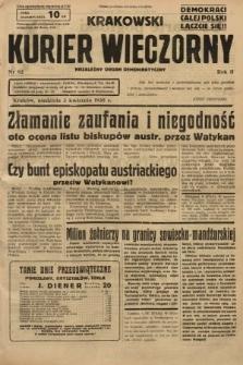 Krakowski Kurier Wieczorny : niezależny organ demokratyczny. 1938, nr92