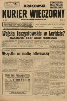 Krakowski Kurier Wieczorny : niezależny organ demokratyczny. 1938, nr93