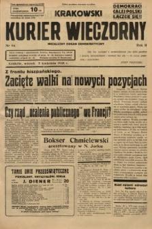Krakowski Kurier Wieczorny : niezależny organ demokratyczny. 1938, nr94
