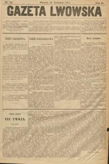Gazeta Lwowska. 1901, nr98