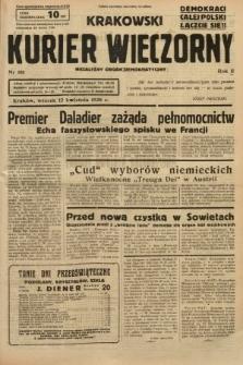 Krakowski Kurier Wieczorny : niezależny organ demokratyczny. 1938, nr101