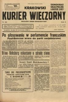 Krakowski Kurier Wieczorny : niezależny organ demokratyczny. 1938, nr102