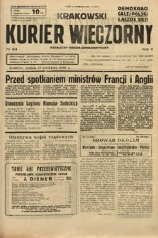 Krakowski Kurier Wieczorny : niezależny organ demokratyczny. 1938, nr104