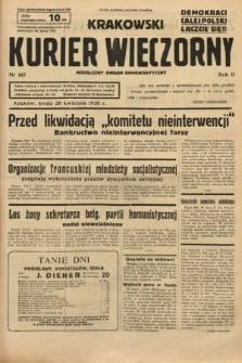 Krakowski Kurier Wieczorny : niezależny organ demokratyczny. 1938, nr107
