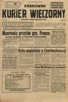 Krakowski Kurier Wieczorny : niezależny organ demokratyczny. 1938, nr111