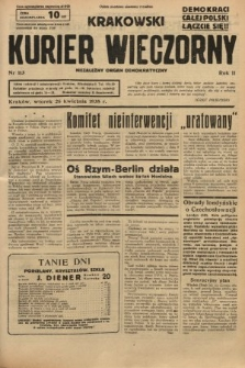Krakowski Kurier Wieczorny : niezależny organ demokratyczny. 1938, nr113