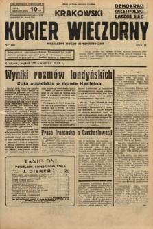 Krakowski Kurier Wieczorny : niezależny organ demokratyczny. 1938, nr116