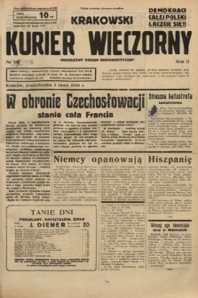 Krakowski Kurier Wieczorny : niezależny organ demokratyczny. 1938, nr118