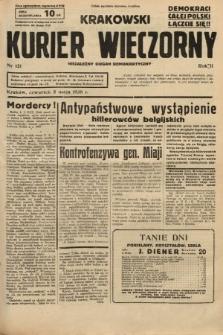 Krakowski Kurier Wieczorny : niezależny organ demokratyczny. 1938, nr121