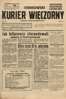 Krakowski Kurier Wieczorny : niezależny organ demokratyczny. 1938, nr122