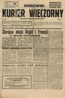 Krakowski Kurier Wieczorny : niezależny organ demokratyczny. 1938, nr123