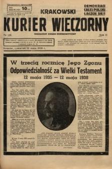 Krakowski Kurier Wieczorny : niezależny organ demokratyczny. 1938, nr128