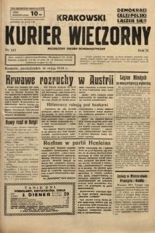 Krakowski Kurier Wieczorny : niezależny organ demokratyczny. 1938, nr132