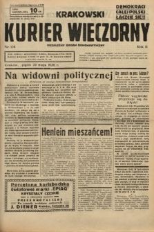 Krakowski Kurier Wieczorny : niezależny organ demokratyczny. 1938, nr136
