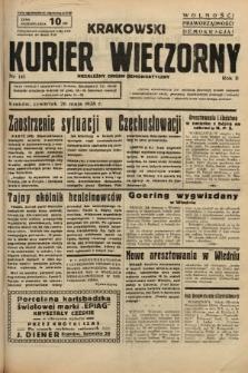 Krakowski Kurier Wieczorny : niezależny organ demokratyczny. 1938, nr141