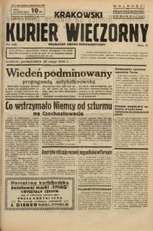 Krakowski Kurier Wieczorny : niezależny organ demokratyczny. 1938, nr145