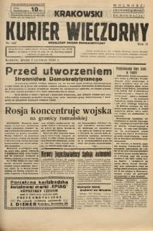 Krakowski Kurier Wieczorny : niezależny organ demokratyczny. 1938, nr147