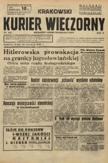 Krakowski Kurier Wieczorny : niezależny organ demokratyczny. 1938, nr166
