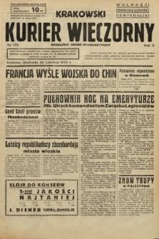 Krakowski Kurier Wieczorny : niezależny organ demokratyczny. 1938, nr170