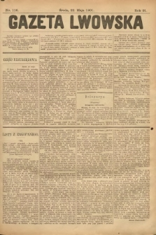 Gazeta Lwowska. 1901, nr116