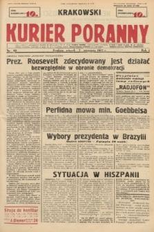Krakowski Kurier Poranny. 1937, nr62