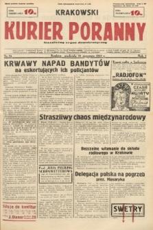 Krakowski Kurier Poranny : niezależny organ demokratyczny. 1937, nr74