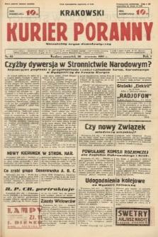 Krakowski Kurier Poranny : niezależny organ demokratyczny. 1937, nr85