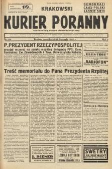 Krakowski Kurier Poranny : niezależny organ demokratyczny. 1937, nr129