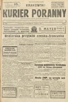 Krakowski Kurier Poranny : niezależny organ demokratyczny. 1937, nr166