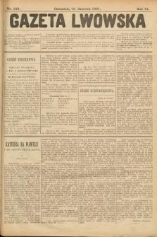 Gazeta Lwowska. 1901, nr133