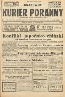 Krakowski Kurier Poranny : niezależny organ demokratyczny. 1937, nr172