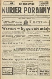 Krakowski Kurier Poranny : niezależny organ demokratyczny. 1937, nr173