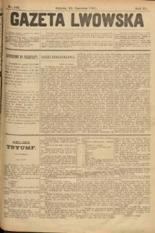 Gazeta Lwowska. 1901, nr141