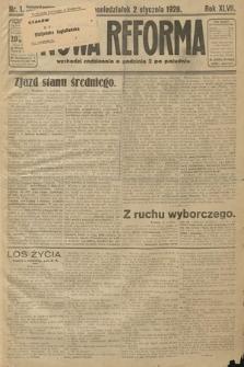 Nowa Reforma. 1928, nr1