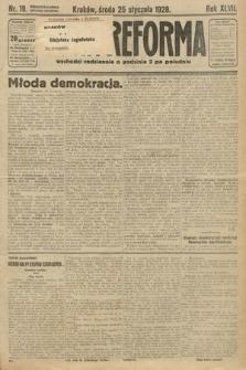 Nowa Reforma. 1928, nr19