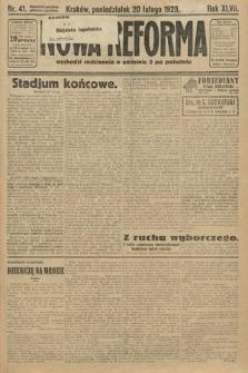 Nowa Reforma. 1928, nr41
