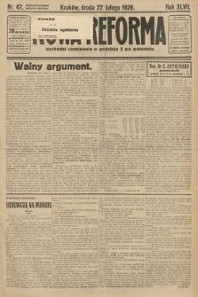 Nowa Reforma. 1928, nr42