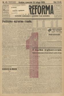 Nowa Reforma. 1928, nr43