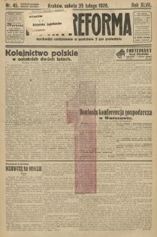 Nowa Reforma. 1928, nr45