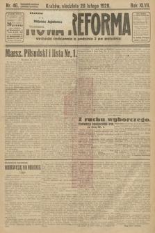 Nowa Reforma. 1928, nr46