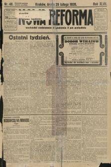 Nowa Reforma. 1928, nr48