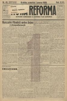Nowa Reforma. 1928, nr49