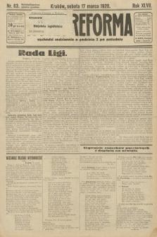 Nowa Reforma. 1928, nr63