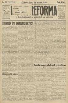 Nowa Reforma. 1928, nr72